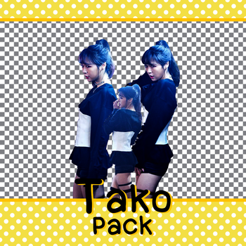 Tako (SNH48) PNG (render) pack 4 by snh48