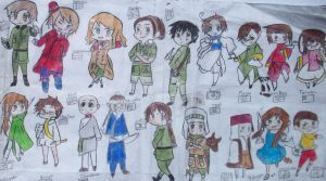 Just About ALL The Hetalia Characters Part 3 by ShinraKishitani23