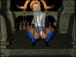 Powergirl Chained and Tamed by LordSnot
