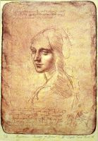 a copy of the drawing by Leonardo da Vinci by ZayatsT