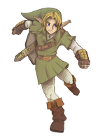 The Legend of Zelda: Melody of The Shadows - Link by SiscoCentral1915
