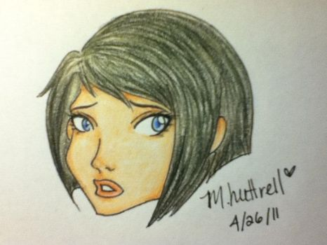 Untitled Headshot Two by Raven-Circe-Lyidial