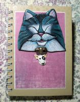 Stache the Cat Journal by MandarinMoon