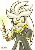 Silver Hufflepuff by 13VOin