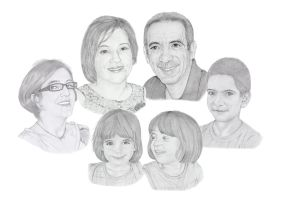 Jimmy, Christina and their family by agfox49