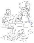 soul eater LineArt by HinataLove99