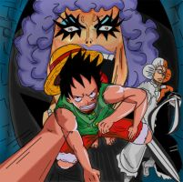 One piece Impel down by jamjamstyle