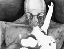 ::saturn Devouring his child:: by mebdalira
