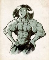 Dark Muscle by Gettar82