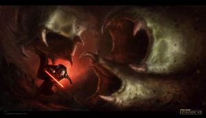 Sith lord escape by Long-Pham