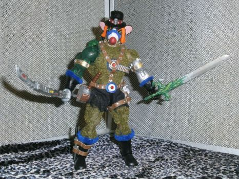 PackRat MotU Custom ActionFigure Front View Gore57 by BooRat