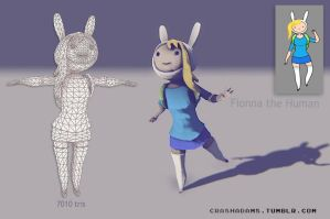 F is for Fionna the Human by CrashAdams
