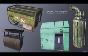 The Chop Shop - Props by charliedeft