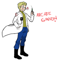 Arcade Gannon Color by Mikkynga