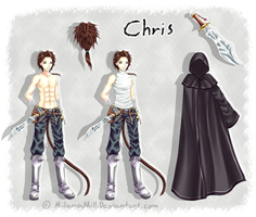 Chris Reference + Speedpaint by MilanaMill