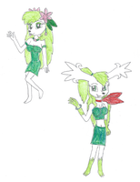 Hanako the Shaymin by KendraTheShinyEevee