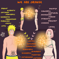 We are Orange by Junablossom