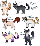 Kitty Adopts! OPEN by miaowstic