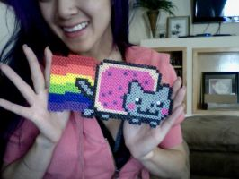 Nyan Nyan Cat Beads by VampBeauty