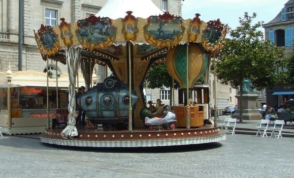 Merry go round by Audierne