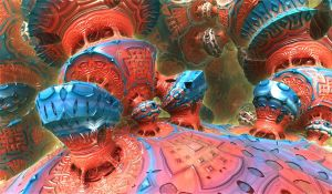 bluered bulb constructions by Andrea1981G
