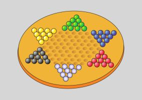 Chinese checkers by jaevairny