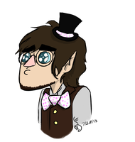 My Bowtie's Totally Manly, Guys. by MagicMooseofDoom