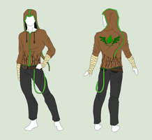 Custom Outfit - Forest Hoodie by ShadowInkAdopts
