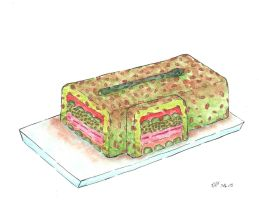 Terrine full of Veggies and Fishes by Lil-Guppy