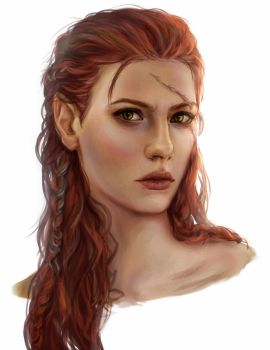 Rhona commission by AnnaHelme