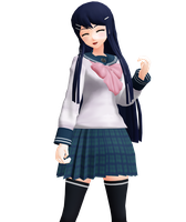 |DL SERIES| Sayaka Maizono (32/?) by typhlosion4ever