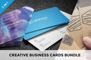 Creative Business Cards Bundle by nazdrag