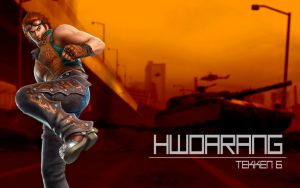 Hwoarang Tekken 6 Wallpaper by biscuit-the-great