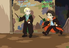 Drarry in another world by FoxChristy