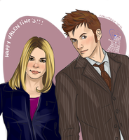 Doctor Who: Valentine's by punkypeggy