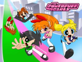 The Powerpuff Girls CF 2008 by Coffgirl