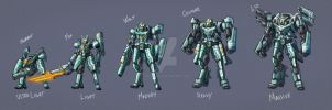Unused Mecha Came concepts by nato2469