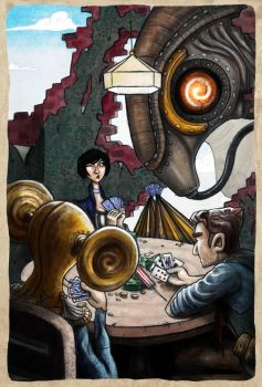 Bioshock Bluff by Dr-K