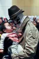 Rorschach Loves Babies by bishop27