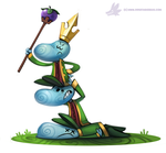Daily Paint #1016. Happy Birthday, #Rayman by Cryptid-Creations