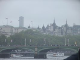 Westminster Bridge and the rest of London by YesIamEccentric