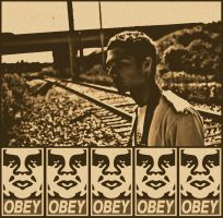 OBEY Vintage by LOVEnotWAR