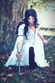 Kahlan Amnell - Mother Confessor by HelaCosplay