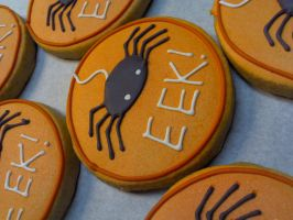 EEK Spider Cookies by eckabeck