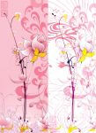 oriental lily abstract x two by photoshop-addict28