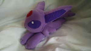 Espeon Beanie Plushie (Pic 2) by KahleyCreations