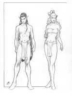 World of Astara Profile Elves by itSMEneon