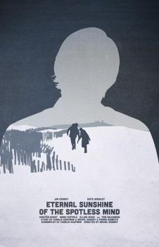 Eternal Sunshine of the Spotless Mind poster by billpyle