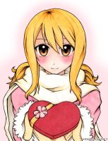 Valentine 2013 - FAIRY TAIL: Lucy by HoumeiKin