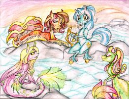 Lyra and the Merponies OVA by Coraline-176